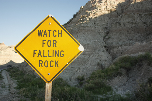 falling rock Falling rock trail is a 03 mile out and back trail located near rapid city, south dakota the trail is rated as moderate and primarily used for.