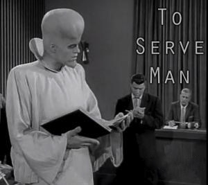 Image result for to serve man