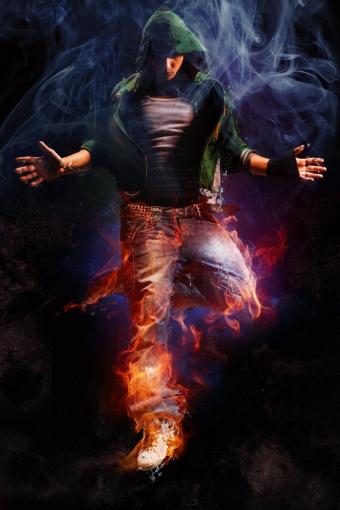 man_on_fire_by_gencebay55